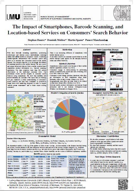 daurer net - The Impact of Smartphones, Barcode Scanning